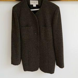 Tweed Green Suite Jacket
